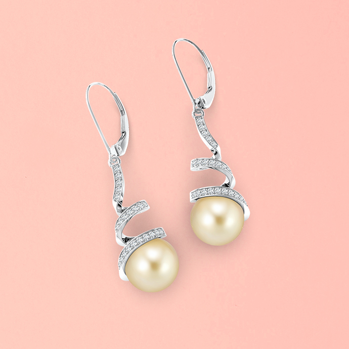 golden-south-sea-cultured-pearl-spiral-ribbon-drop-earrings